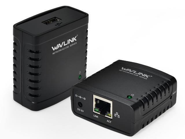 Monoprice networking usb 2. 0 print server share 1 usb device.