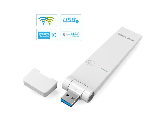 Wavlink Ultra-fast AC1200 Dual Band USB Wireless Adapter WIFI Adapter 5Ghz  867Mbps + 2 4GHz 300Mb Range Extender Receiver Dongle IEEE 802 11ac/a/b/g/n