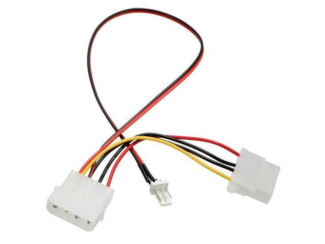 Cpu Fan 4pins Patch Cord To 34 Pins Power Adapter Cable Lead Wire