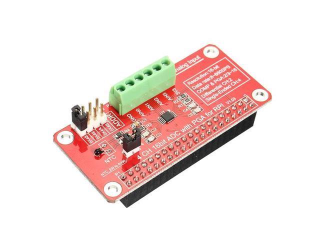 ADS1115-ADC Module For Raspberry Pi 3 / 2 / B+ - Newegg com