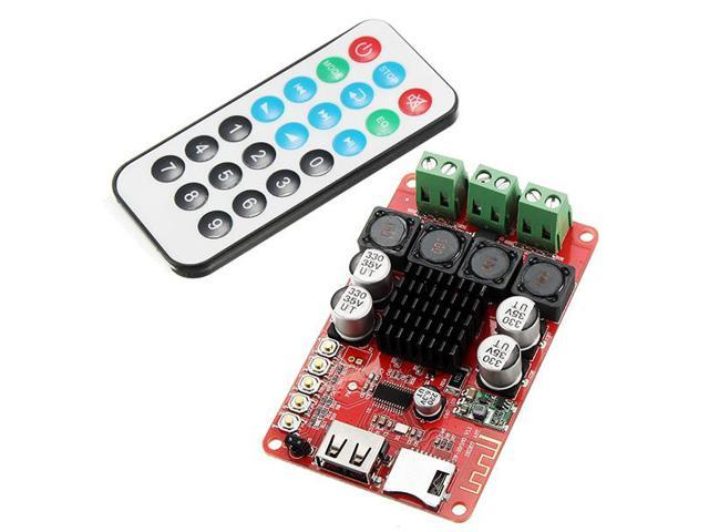 SANWU HF183 TPA3116 2X50W Digital Wireless Bluetooth Receiver Module  Amplifier Board U Disk TF Card Decoder Dual Channel With Remote Control -