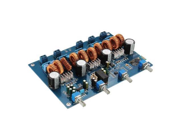 TPA3116 4 1 Class D Amp Power Stereo Amplifier Board With Bluetooth  4x50W+100W - Newegg com