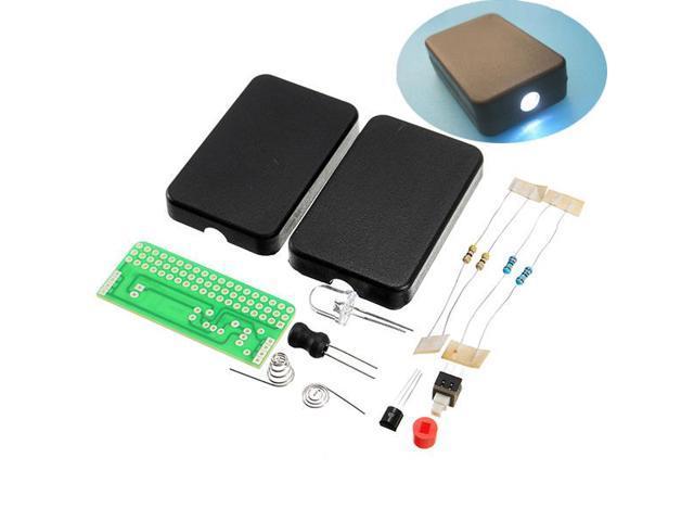 Diy Fla 1 Simple Flashlight Circuit Board Electronic Kit Newegg Com