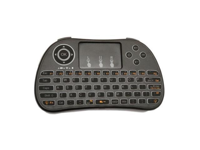 7da5e8e869a I86 Wireless White Backlit 2.4GHz Touchpad Keyboard Air Mouse ...