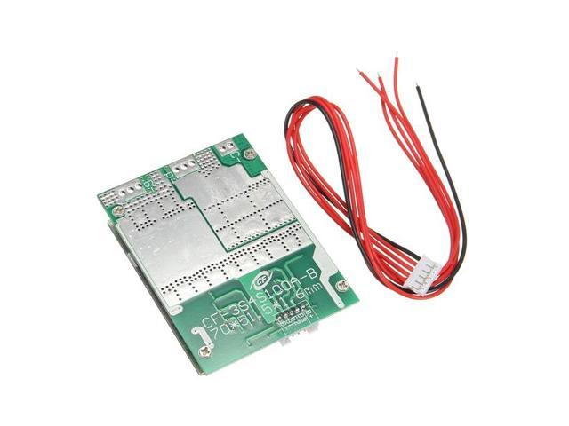 4S 100A 12V LiFePo4 18650 Battery Cell BMS Protection Board + Balance With  Cable High-Power Low Resistance MOS Inverter Converter - Newegg com