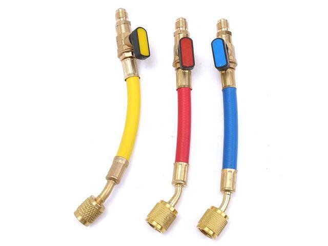 800 PSI R134A R410A R12 R22 A/C Refrigeration Connector Adapter Hoses Set -  Newegg com
