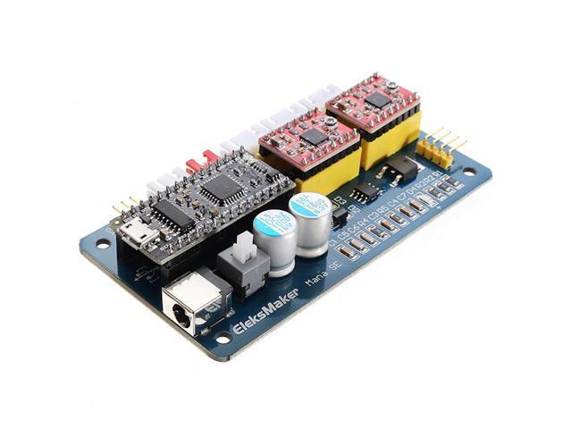 EleksMaker ManaSE 2 Axis Stepper Motor Driver Controller Board For DIY  Laser Engraver - Newegg com