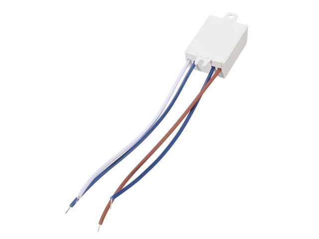 Ac 220v 50hz Led Sound Light Operated Switch Energy Sensor