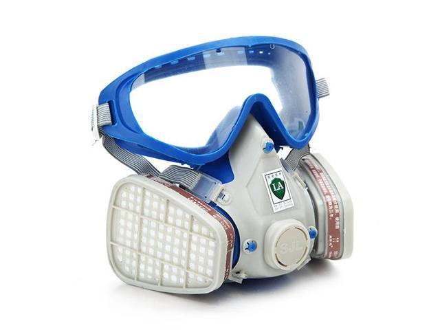 Silicone Full Face Respirator Gas Mask Goggles Comprehensive Cover