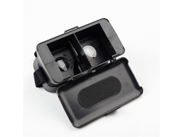 777a56d09e9a NJ Head Mount Virtual Reality 3D Video Glass Cardboard For Cell Phone