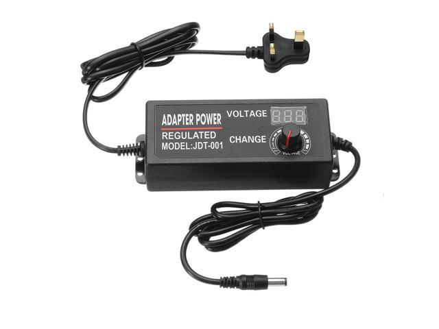 Excellway 9-24V 3A 72W AC/DC Adapter Display Adajustable Power Adapter  Switching Power Supply UK - Newegg com