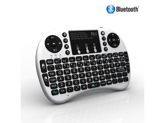 e6e3e973fe2 Rii i8+ BT Mini Wireless Bluetooth Backlight Touchpad Keyboard with Mouse  for PC/Mac/