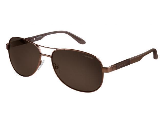 ee9640bfac2 Carrera Polarized Men s Aviator Sunglasses Matte Brown Brown 0TLV ...