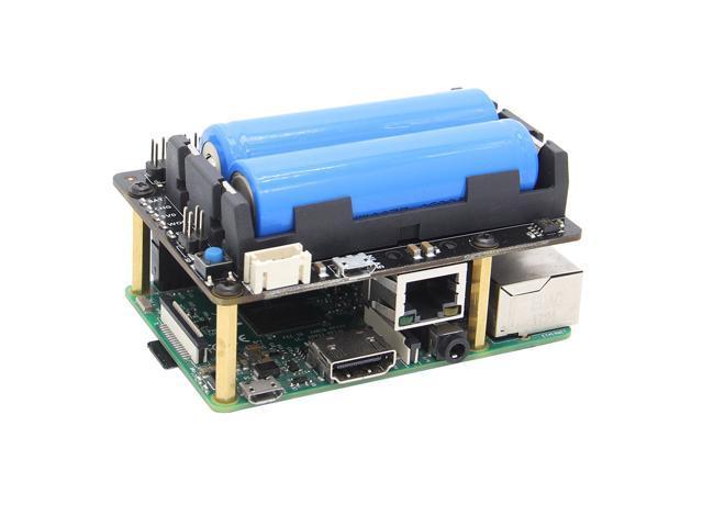 Raspberry Pi X720 UPS HAT (18650 Power)+Safe Shutdown+Wake on Lan+RTC Power  Management Expansion Board for Raspberry Pi 3B+/3B - Newegg com