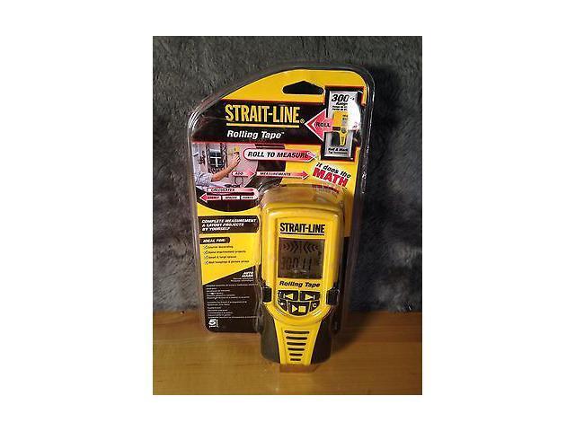 new strait line rolling tape electronic measuring tape 300ft range