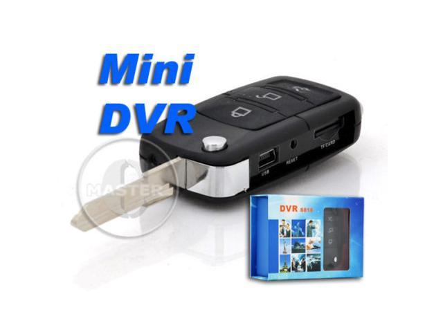 New Pro Euro Car Key Hidden Spy Mini Camera Dvr Digital Video Voice
