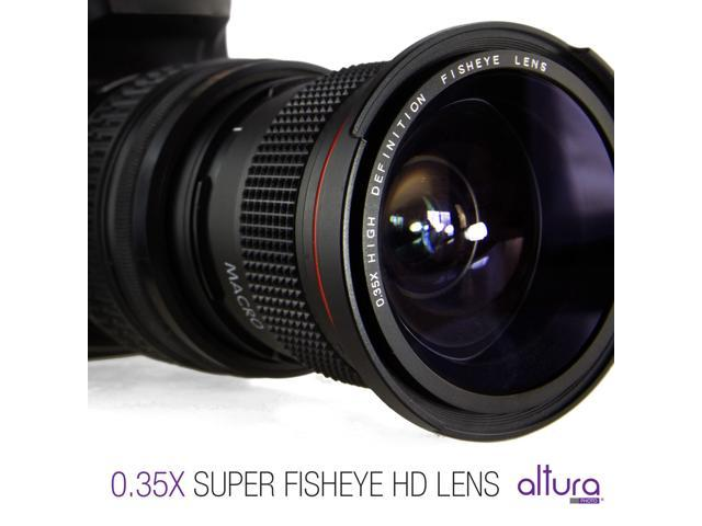 Altura Photo 58mm 035x Fisheye Wide Angle Lens With Macro For