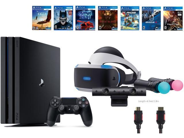 91975a1b8 PlayStation VR Start Bundle 10 Items VR Start Bundle PS4 Pro 1TB