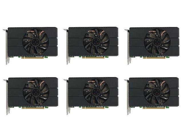 6 Packs of AMD RADEON RX 580 GRAPHICS CARDS WITH 4GB GDDR5 DEDICTAED MEMORY - OEM