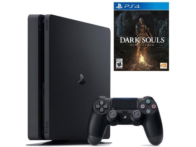 Playstation 4 Dark Souls Remastered Launch Bundle (2 items): PlayStation 4  Slim 1TB Console and Dark Souls: Remastered - Newegg com