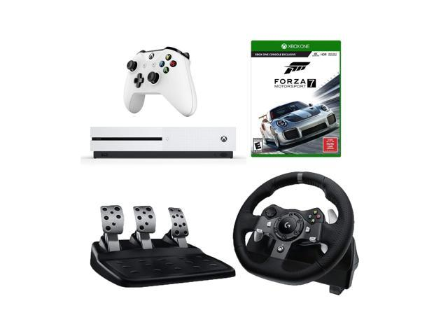 167d5096753 Logitech G920 Driving Force Racing Wheel (For Xbox One and PC) Starter  Bundle: