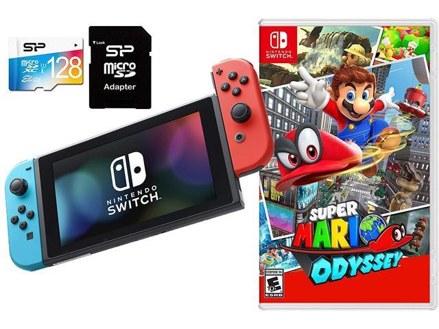 Nintendo Switch Super Mario Odyssey Bundle 32gb Nintendo