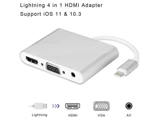 Hdmi Vga Digital Av Adapter Cable