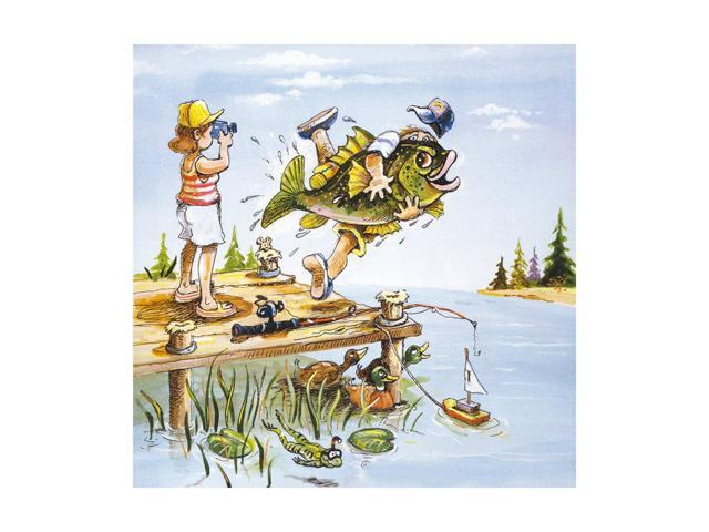 Abstract Cartoon Scenery Wall Painting Decoration Printing Hang Painting Children S Room Without Frame 13 Newegg Com