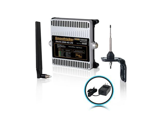 Smoothtalker Stealth Z6 60dB 4G LTE High Power 6 Band Cellular Signal  Booster Kit  - Newegg ca