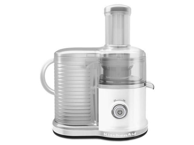 KitchenAid KVJ0333WH Easy Clean Juicer White