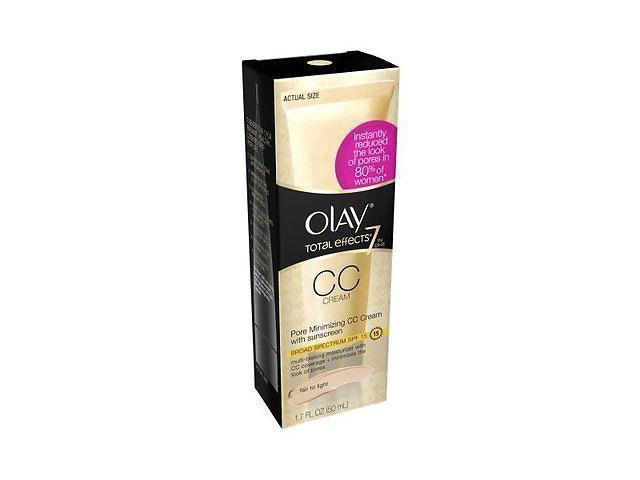 Olay Total Effects Pore Minimizing Cc Cream Fair To Light, 1 7 Fl Oz -  Newegg com