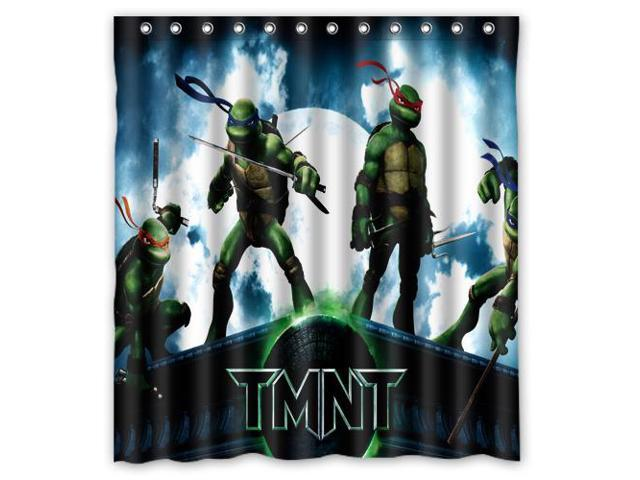 2016 Waterproof Bath Curtain Teenage Mutant Ninja Turtles TMNT Home Decor Bathroom Shower PEVA Fabric