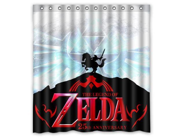 Waterproof Shower Curtain The Legend Of Zelda High Quality Bathroom With Hooks 60