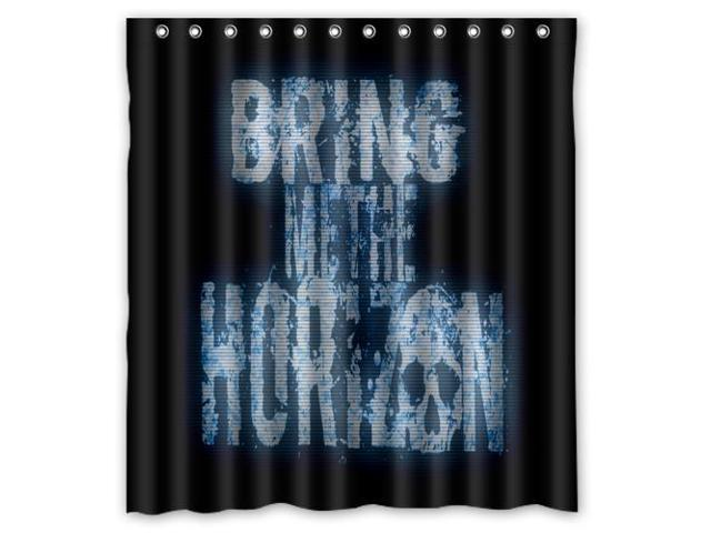 Eco Friendly Waterproof Shower Curtain Bring Me The Horizon Romantic Bathroom Polyester Fabric