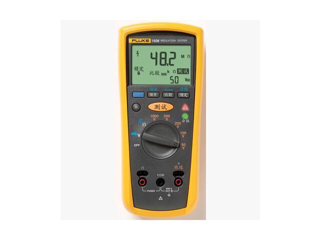 FLUKE 1508 insulation multimeter F1508 digital megohmmeter Original Genuine  F-1508/FLUKE1508 - Newegg com