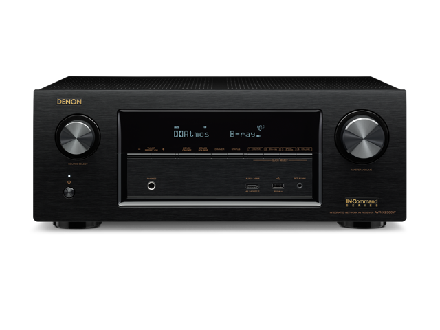 Denon AVR-X2300W 7 2 Channel Full 4K Ultra HD A/V Receiver with Bluetooth  and Wi-Fi - Newegg com