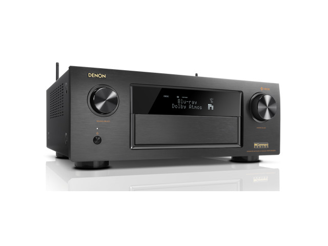 Denon AVRX4400H 9 2 Channel Full 4K Ultra HD Network AV Receiver with HEOS  black, Works with Alexa - Newegg com