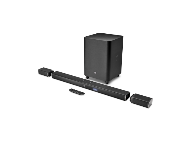JBL 5.1-Channel 4K Ultra HD Soundbar with True Wireless Surround Speakers and Wireless Subwoofer