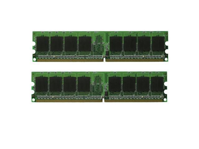 2gb 2x1gb Ram Pc2 5300 Ddr2 667mhz 184 Pin Dimm Dell
