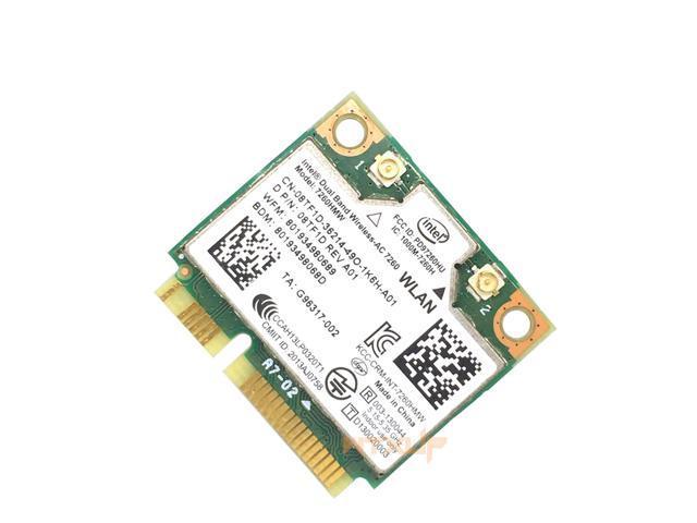 Dual band 2 4Ghz/5Ghz Intel 7260 7260AC 7260HMW 867M Bluetooth 4 0 Mini  PCIe WiFi Wireless Network Card for win 7 win 8 win 10 - Newegg ca