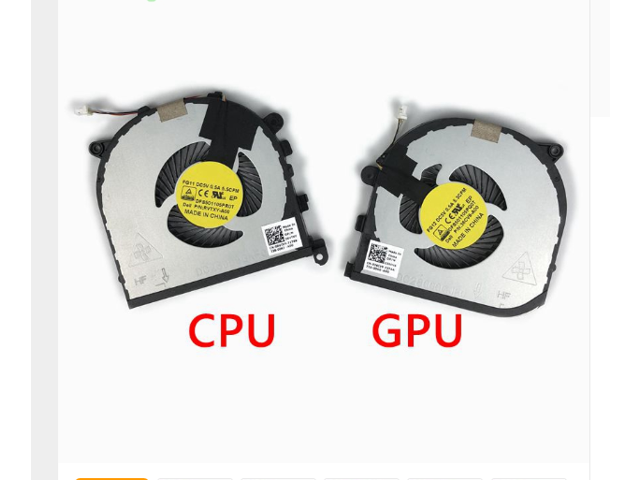 New Original Laptop CPU GPU Cooling Fan For DELL XPS15 9550 Fan Cooler  0RVTXY DFS501105PR0T FG11 036CV9 DFS501105PQ0T FG12 - Newegg com