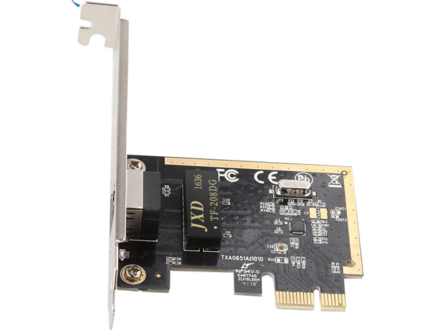 Desktop PC PCI Express PCIe 1X 10/100/1000Mbps 1 Gigabit Ethernet lan Card  for Realtek RTL8111H Ethernet Network adapator - Newegg com