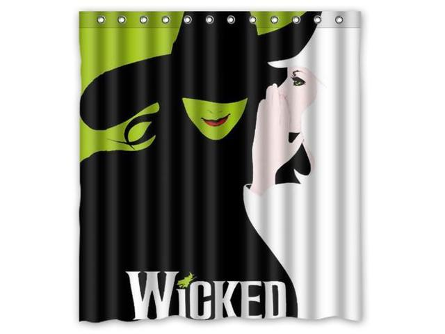 Custom Oz Wicked Witch Of The West Waterproof Shower Curtain High Quality Bathroom With Hooks