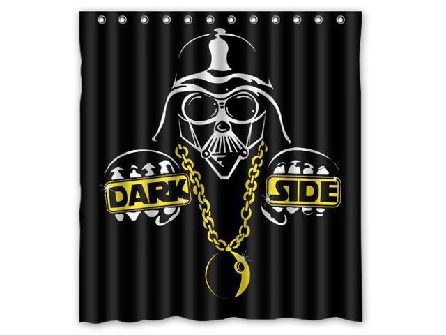 Fashion Design Star Wars Bathroom Waterproof Polyester Fabric Shower Curtain With Hooks 66W