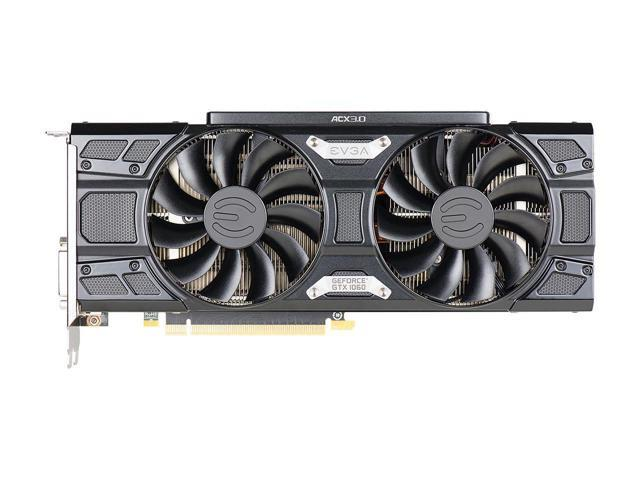 EVGA GeForce GTX 1060 FTW+ Gaming DirectX 12 03G-P4-6367-KR 3GB 192-Bit GDDR5 PCI Express 3.0 FTW+ GAMING ACX 3.0 Video Graphics Card