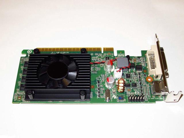 Dell OptiPlex 960 980 990 3010 3020 7010 7020 9010 9020 SFF DT nVIDIA  GeForce 8400 GS 1GB PCI-Express 2 0 x16 DVI+HDMI Single Slot Low Profile  Video