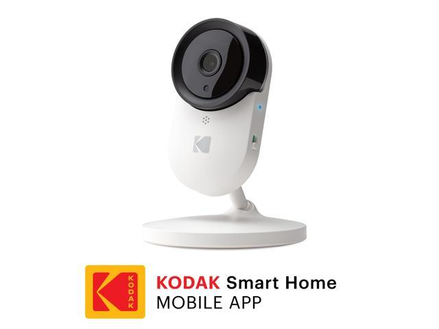 KODAK Cherish C120 Add-On Smart Video Baby Camera with Mobile App, Remote  Zoom, Two-Way Audio, Infrared Night-Vision, Long Range - WiFi Indoor Camera