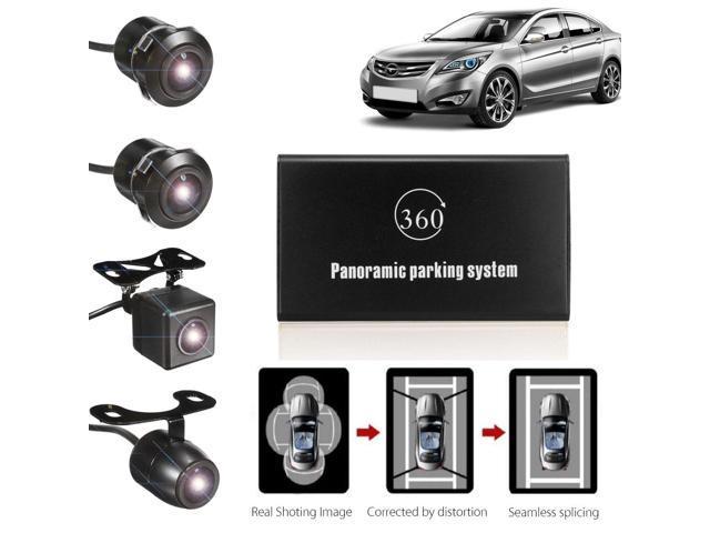 360 Bird View Panoramic System 4 Camera Car Dvr Recording