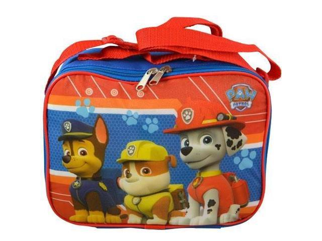 Lunch Bag - Paw Patrol - Chase, Marshall & Rubble Red New PAWLN - Newegg com