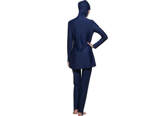 900237bef55 Muslim Swimwear for islamic women black muslim bathing suit hijab  swimwear#170212W1(Size:3XL) - Newegg.com